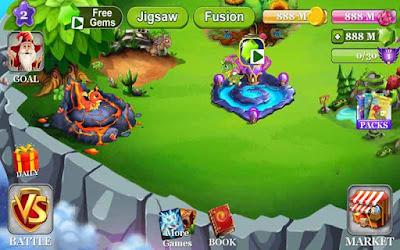 Dragon Castle mod tiền vàng & kim cương (gold gems) cho Android