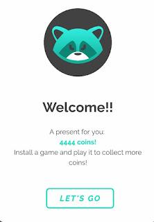AppStation app sign up bonus 4,444 coins