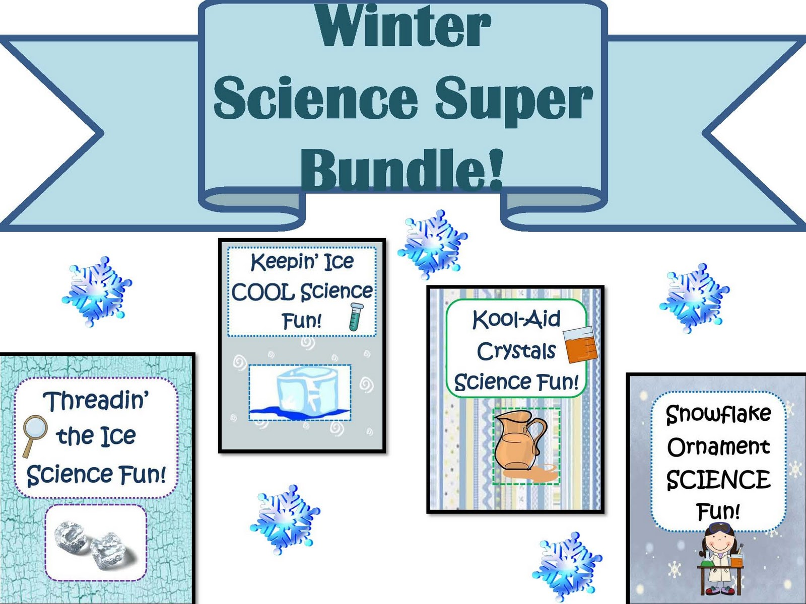 Little Miss Middle School Winter Science Super Bundle