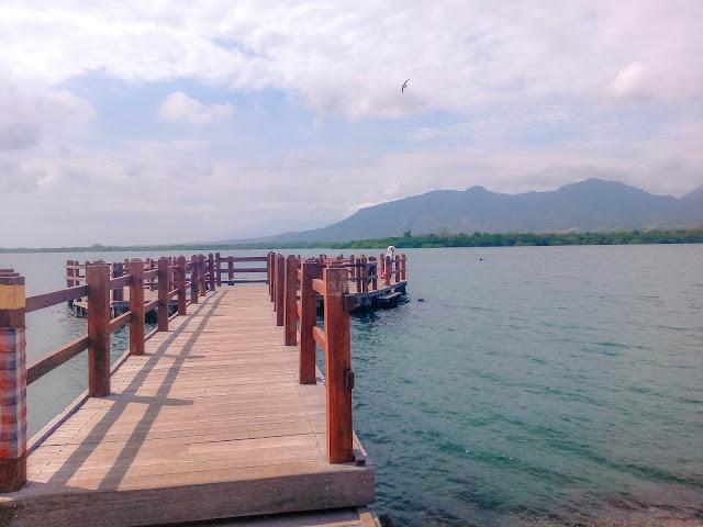 Dermaga Objek Wisata Karang Sewu Gilimanuk Bali