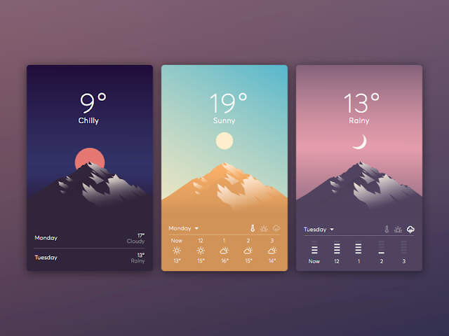 The 10 Best Weather Apps for Android in 2021 - image via invisionapp.com