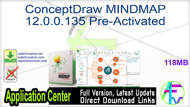 ConceptDraw MINDMAP 12.0.0.135 Pre-Activated