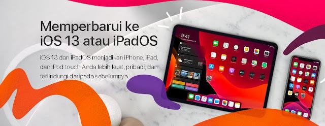 Banyak Manfaat yang akan kamu dapatkan setelah memperbaharui perangkat yang kamu gunakan Cara Upgradate iOS ke Versi 13 Memperbarui iOS 13 atau iPadOS