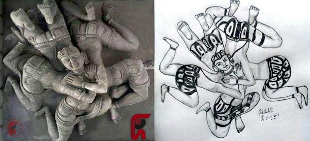 PENCIL DRAWING - CREATIVE ART
