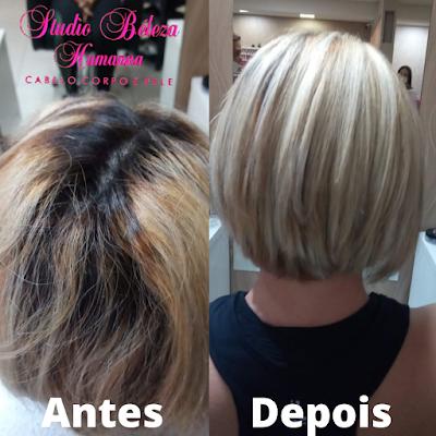 Tratamento para os cabelos loiros em Itapema