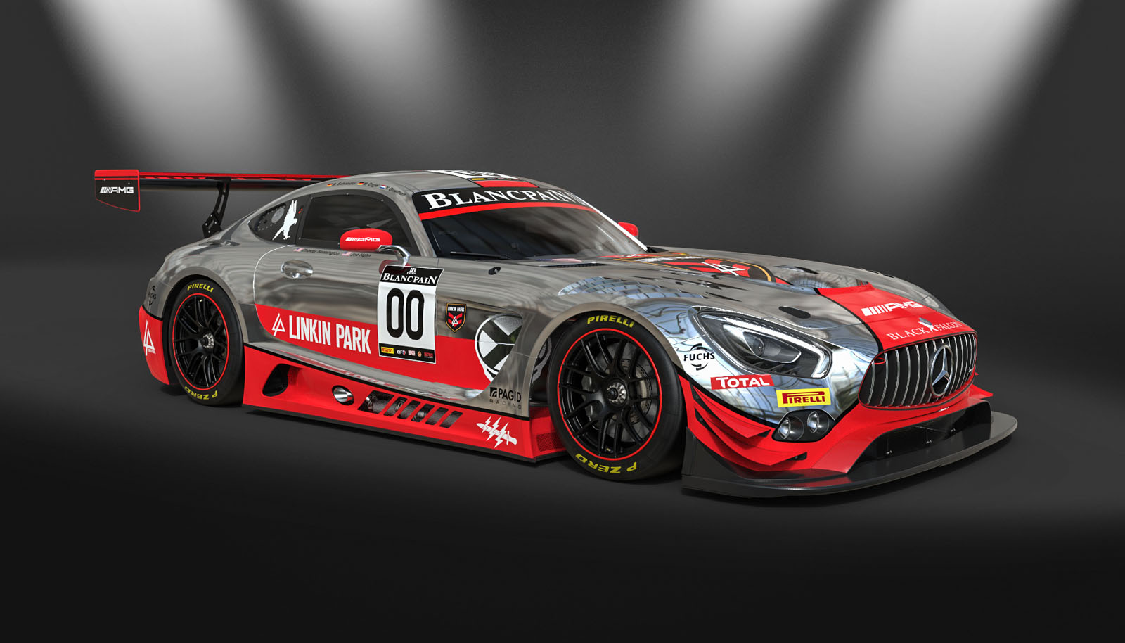 Linkin Park's Mercedes-AMG GT3 Looks Cool But Didn't Fare