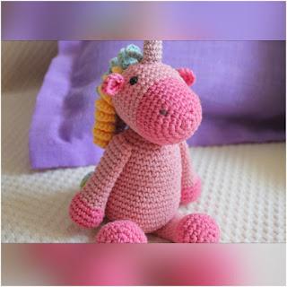 patron amigurumi Unicornio crochet y amigurumis