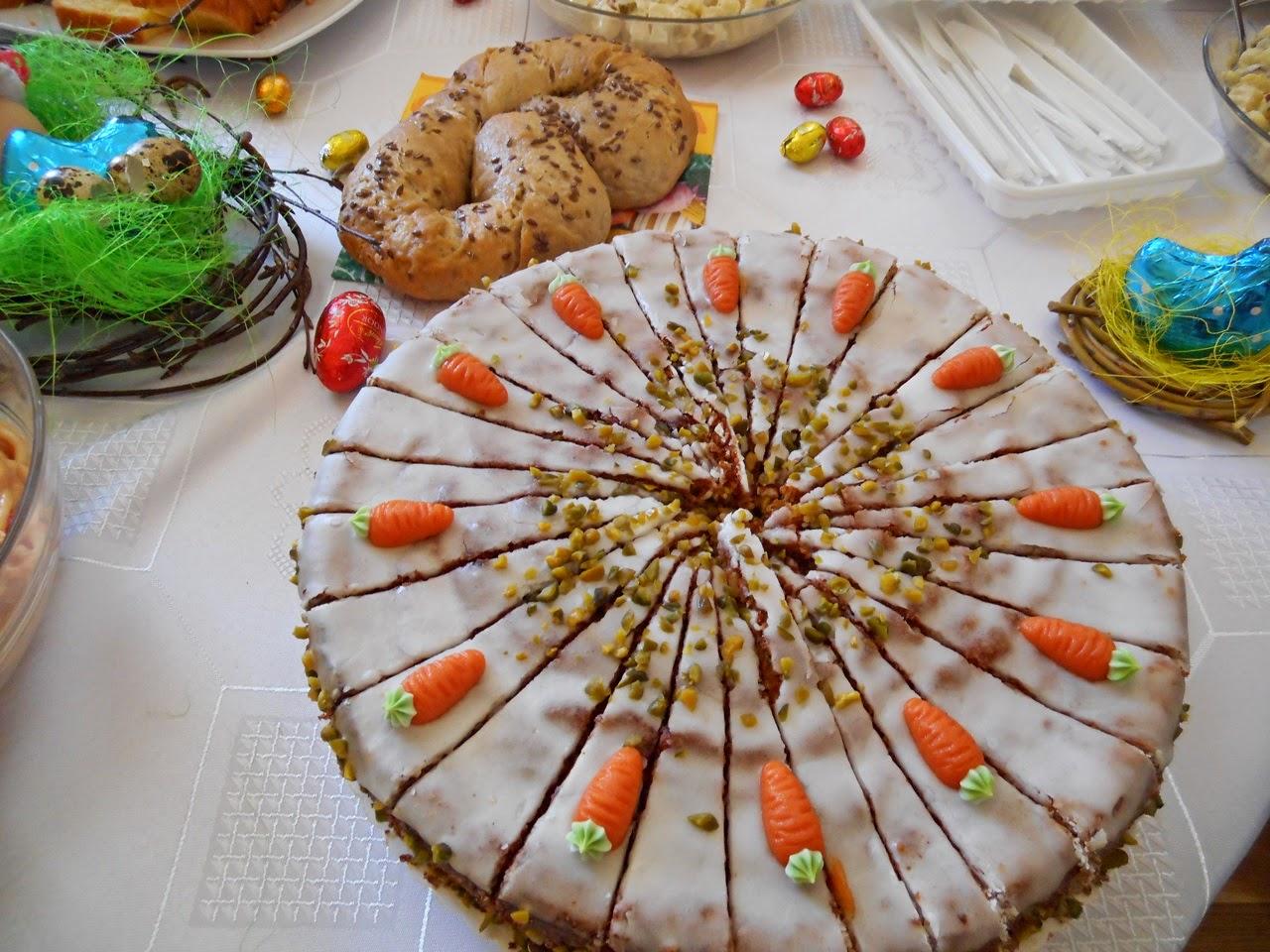 wypieki, stół wielkanocny, Nowe Kramsko, jedzenie