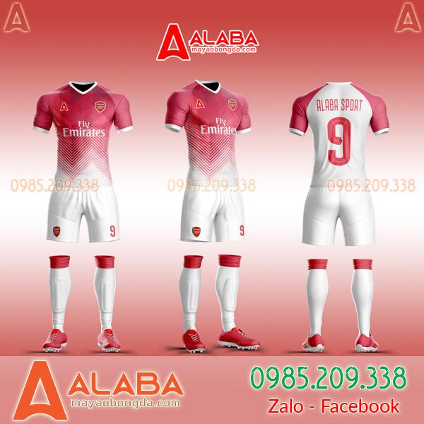 Áo CLB Arsenal tự thiết kế mã ARB AR05 đẹp