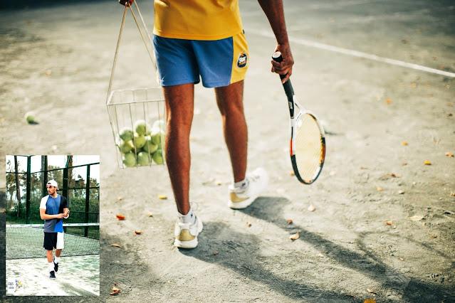 الأماكن المتاحة للاعب التنس tennis ممارسة نشاطه