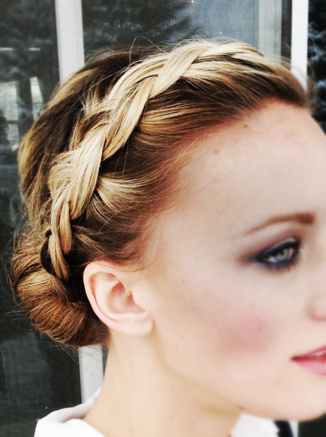 french braid hairstyles from front ~ hair is our crown