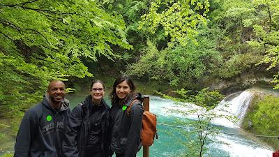 Greenery and beautiful waterfalls everywhere