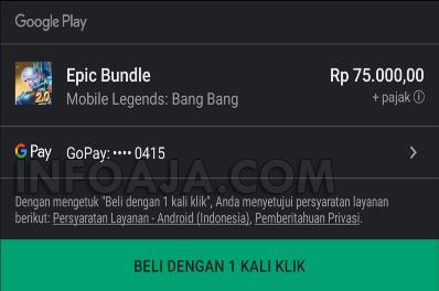 Cara Menggunakan GoPay Untuk Membeli Item di Game