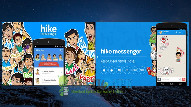 Aplikasi Hike Messenger v4.3.0.81 Apk Android Terbaru