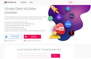 Convert YouTube ke mp4 Menggunakan Y2Mate - 1