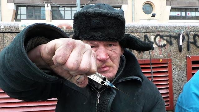 """В Москве мстительный бомж-""""вакцинатор"""" воткнул шприц в прохожего"""