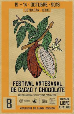 festival artesanal de caco y chocolate coyoacán 2018