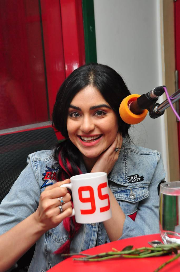 Adah Sharma Stills At Radio Mirchi For Film Promotions