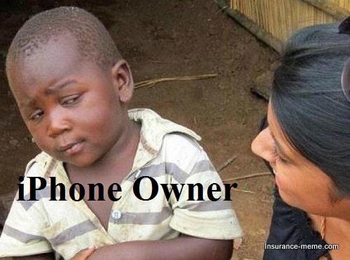 iphone owner meme