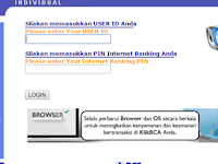 Cara Membeli Pulsa Token Listrik Menggunakan Internet Banking BCA