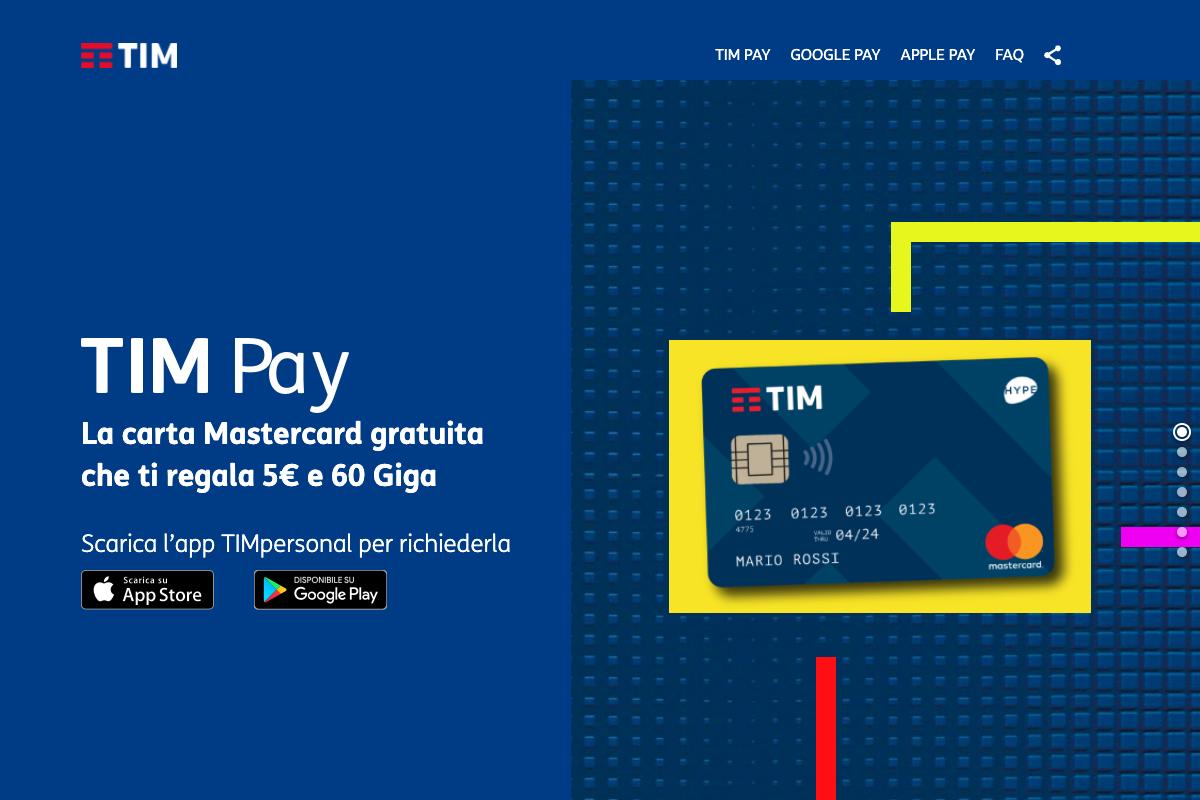 Come chiudere conto TIM Pay