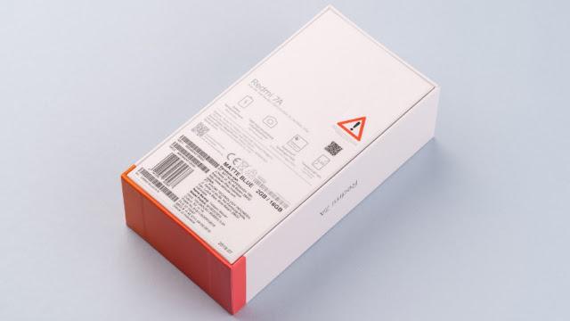 Cek IMEI HP Xiaomi Dus dan Bodi Belakang