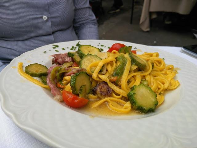 Pranzo alla taverna del ghetto-Ghetto ebraico-Roma