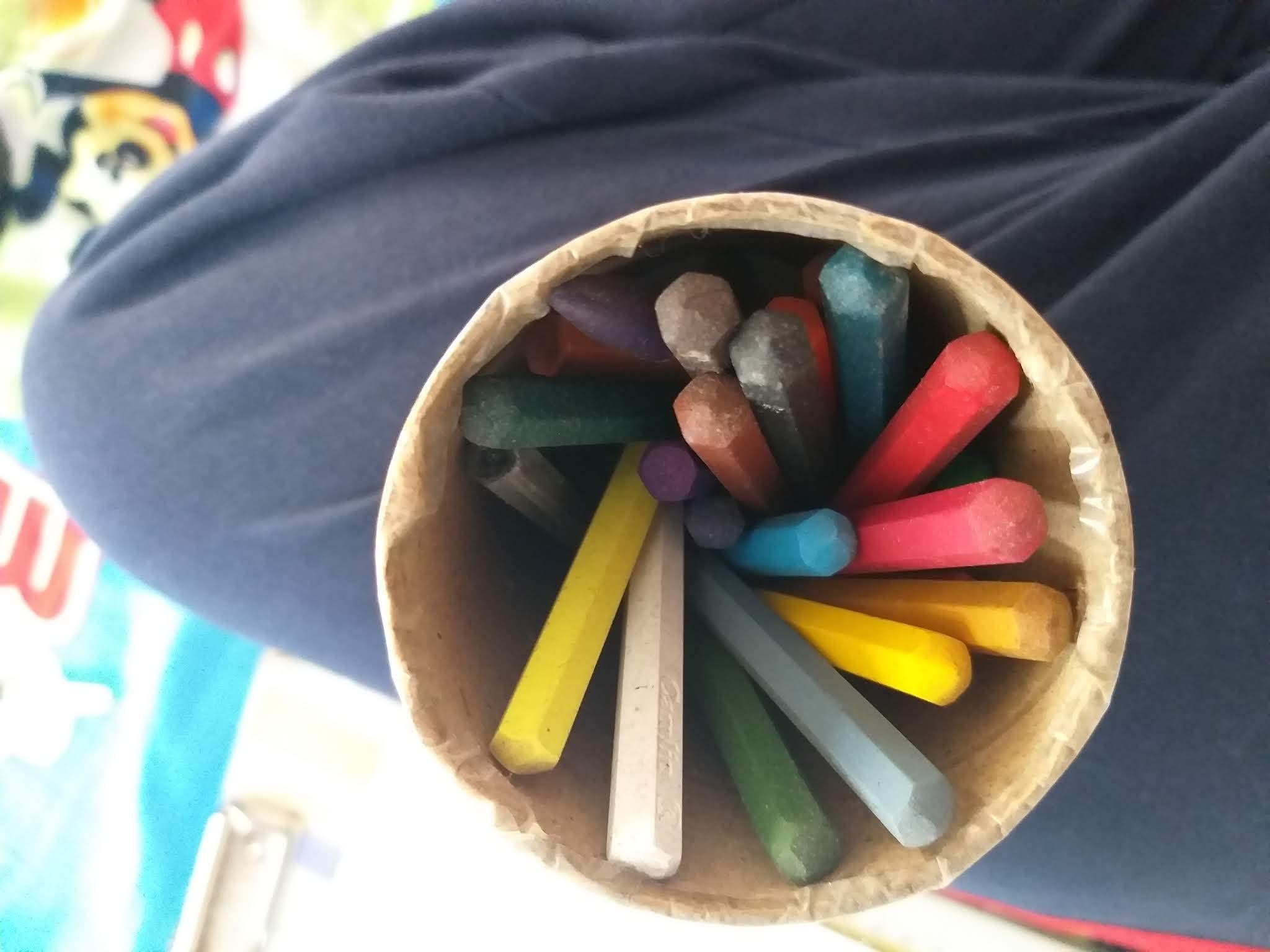 camlin,crayons