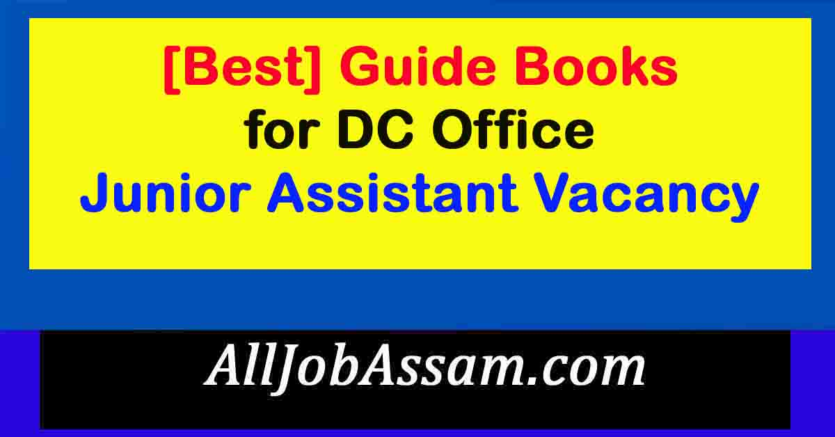 Guide Books for DC Office Junior Assistant