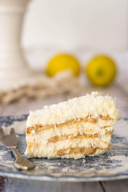 Torta 3 Leches al Limón Sin Horno de www.recomiendoblog.com