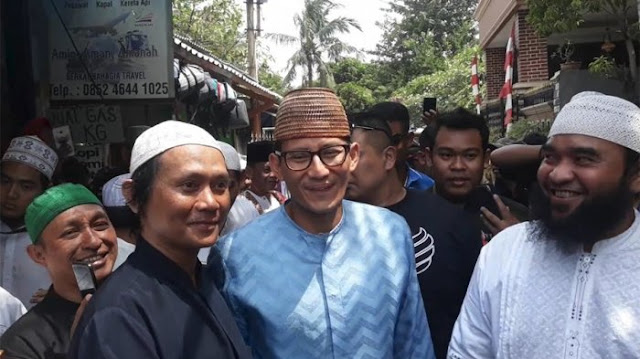 Prabowo Sudah Ditinggal Kelompok Islam, Lebih Baik Gerindra Usung Sandi
