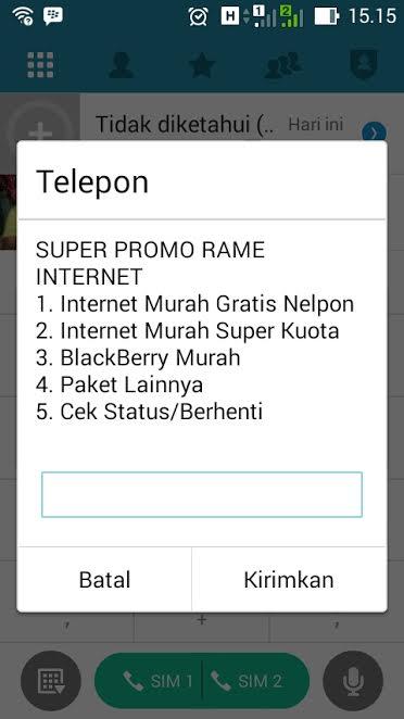 Paket Internet Telkomsel murah Super Promo rame Internet