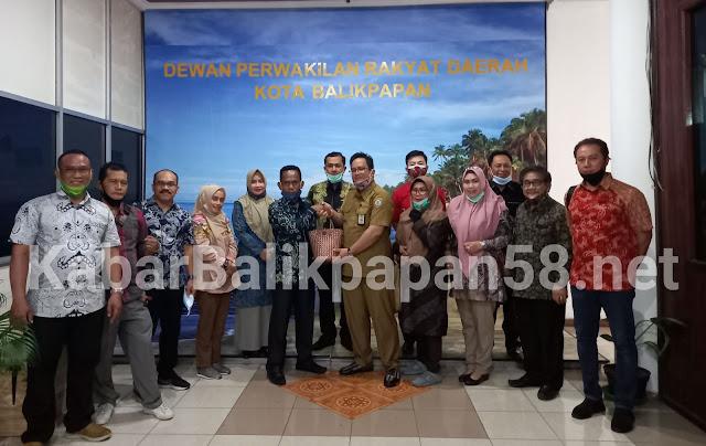 DPRD Banjarmasin Study Banding ke DPRD Balikpapan Terkait Kinerja Banmus