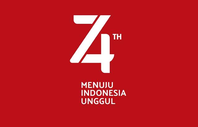 Link Download Logo HUT RI ke-74 Kemerdekaan RI dan Tema 17 Agustus 2019