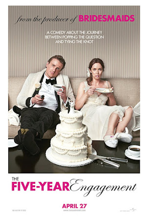 Poster Of Free Download The Five-Year Engagement 2012 300MB Full Movie Hindi Dubbed 720P Bluray HD HEVC Small Size Pc Movie Only At worldfree4u.com