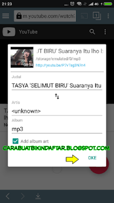 cara mendownload mp3 dari youtube
