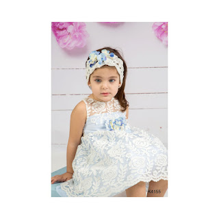 greek baptismal lace dress for girls