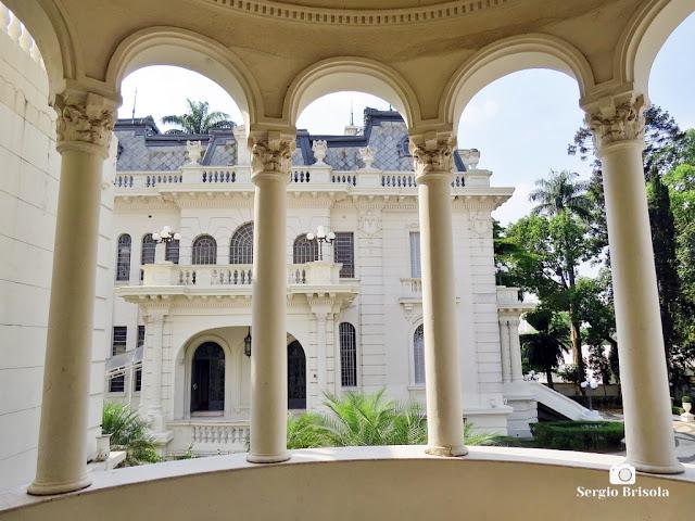 Palacete Basílio Jafet (vista do Terraço coberto)