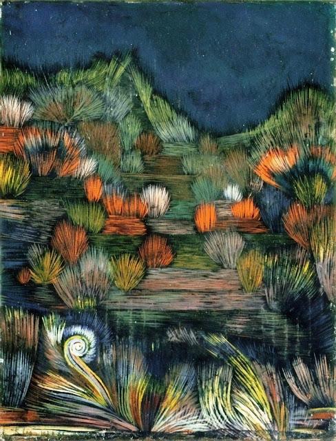 quadro Paul Klee, Piccola immagine di una duna