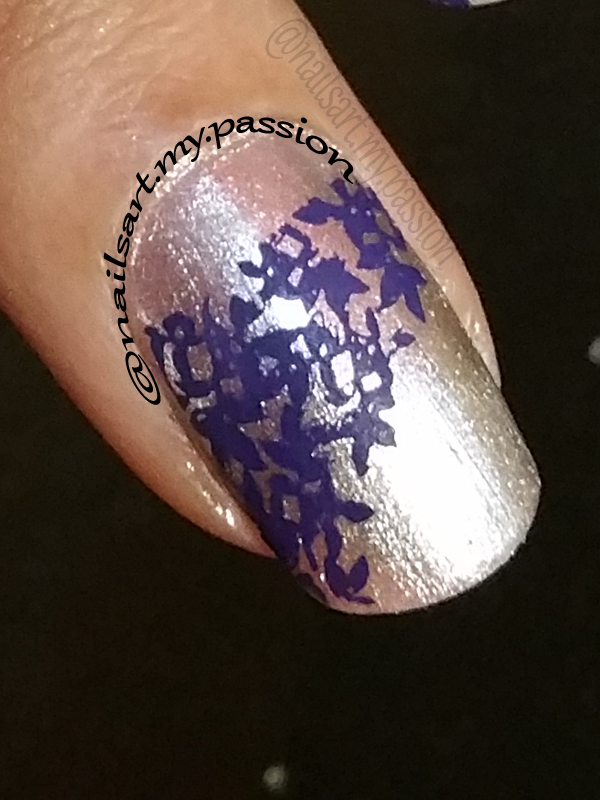 Tutorial 6: Silver Stamped Nails