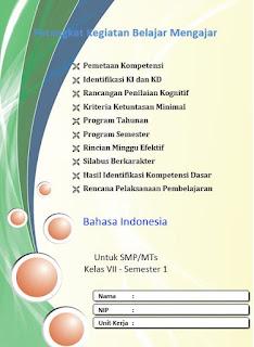 Perangkat Bahasa Indonesia Kelas 7 K13