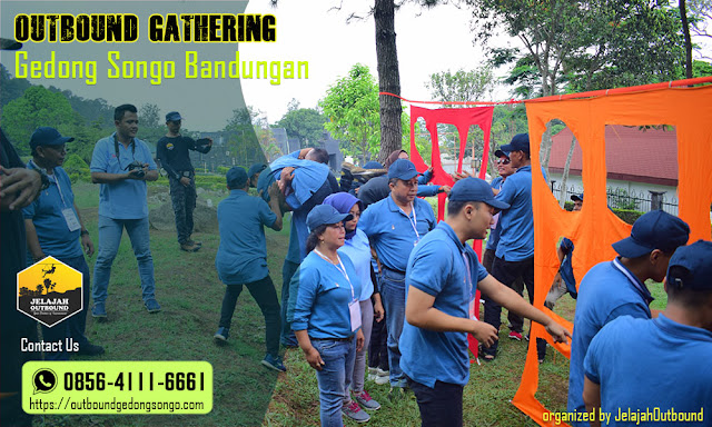 outbound gathering candi gedong songo