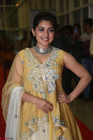 Nivetha Thamos in bright yellow dress at Ninnu Kori pre release function ~  Exclusive (12).JPG