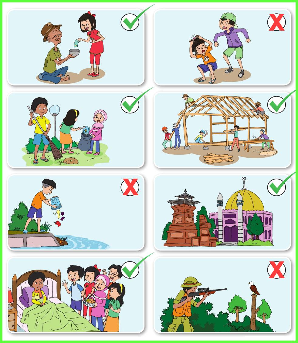 Kunci Jawaban Buku Siswa Kelas 5 Tema 1 Halaman 89 90 91 92 93 94 95 97 101 102 Sanjayaops