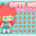Free Sprite - 2D Game Platformer (Girl)