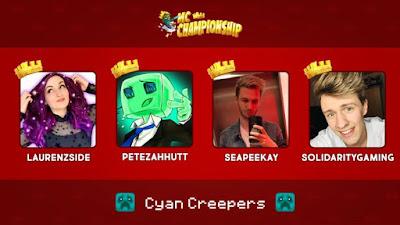 Cyan Creepers