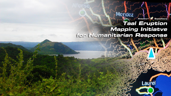 Taal Eruption Mapping Initiative for Humanitarian Response - Schadow1 Expeditions