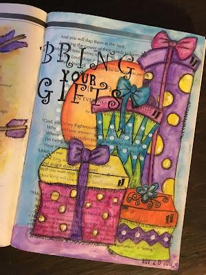 Psalm 4 Bible Journaling Through the Psalms