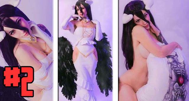 albedo cosplay sexy