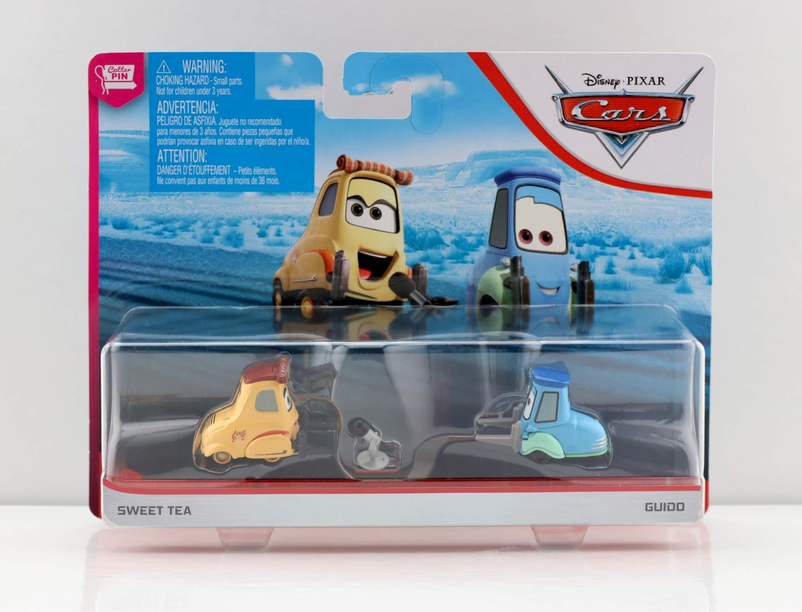 Cars 3 Sweet Tea & Guido 2-Pack review